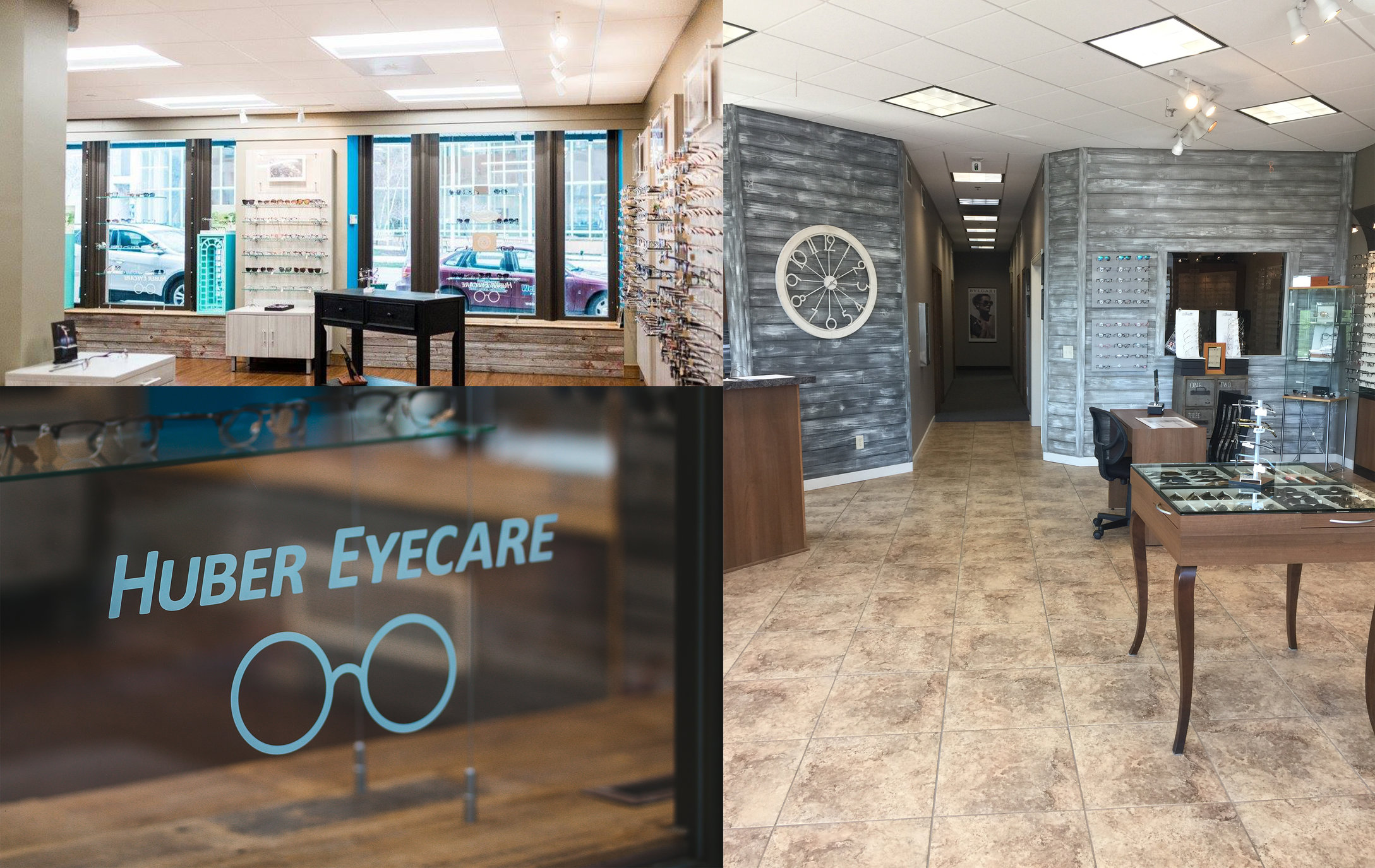 Huber Eye Care has Two Convenient Locations